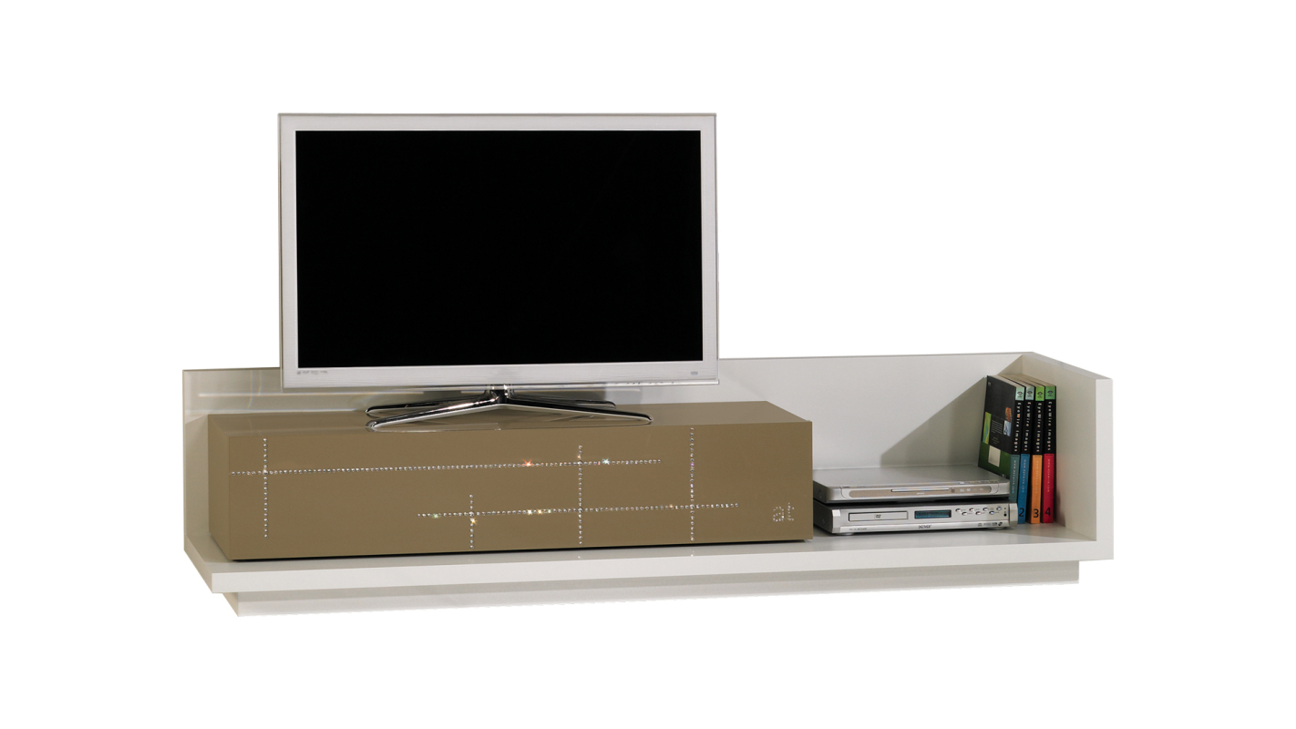 TV Stand Londres | With tilting door module and Swarovski ...